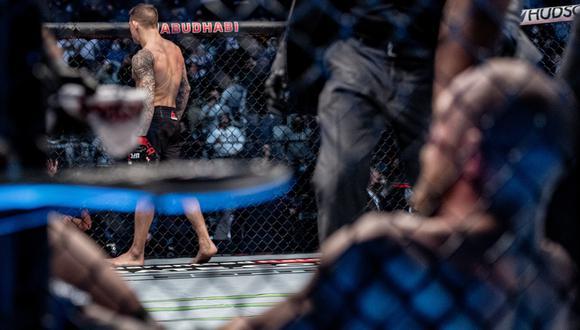 Conor McGregor perdió ante Dustin Poirier por nocaut técnico en el UFC 257. (UFC)