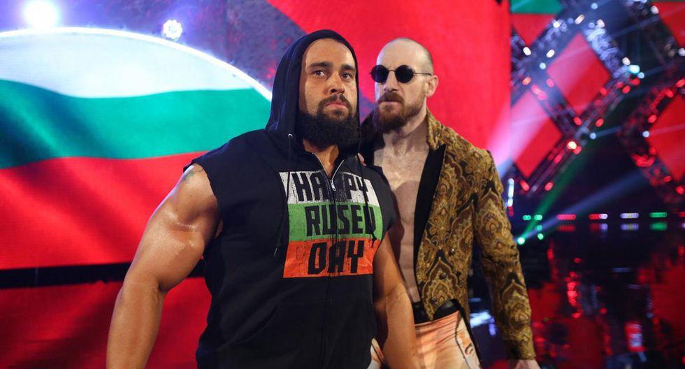 Rusev. (WWE)