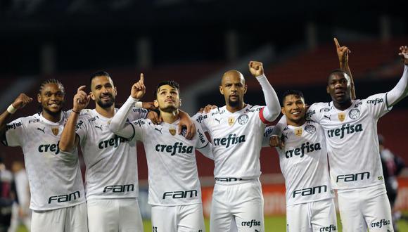 Palmeiras selló su clasificación a los octavos de final de la Copa Libertadores. (Foto: Conmebol)
