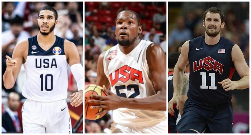 Las estrellas de la NBA que estarán en los Juegos Olímpicos de Tokio con Estados Unidos. (Agencias)