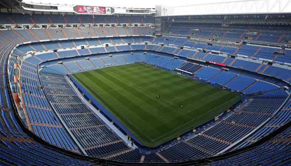 Real Madrid puso a disposición su estadio como centro de acopio. (Foto: AP)