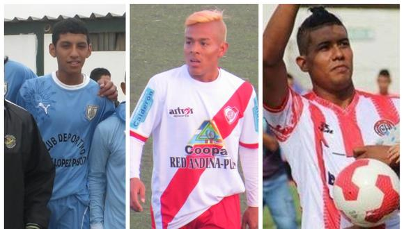 David Dioses, Sandro Rengifo y Raziel García jugaron en torneos de ascenso y hoy están en la Selección Peruana.