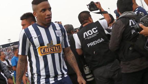 Farfán alentó a Alianza Lima. (Foto: GEC)