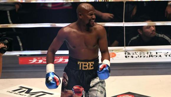 Floyd Mayweather regresará al boxeo el próximo año en un pelea en Japón. (AFP)