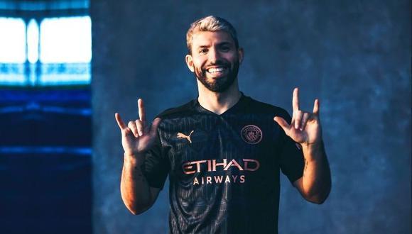 Sergio Agüero termina contrato con el Manchester City en junio de 2021. (Manchester City)