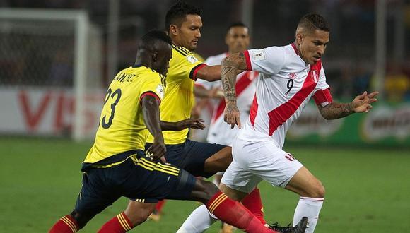 La selección peruana se enfrentó por última vez a Colombia en el 2019, en un amistoso. El encuentro terminó 1-0 a favor de los cafeteros. (Foto: AFP)