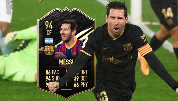 FIFA 21: Messi y 'Chucky' Lozano lideran el Equipo de la Semana de FUT. (Foto: EA Sports)