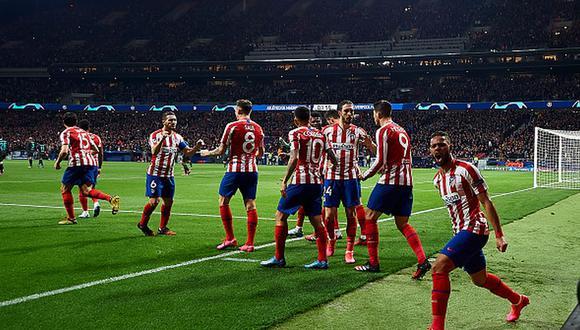 Atlético de Madrid eliminó al Liverpool en octavos de la presente edición de la Champions League. (Foto: Getty Images)