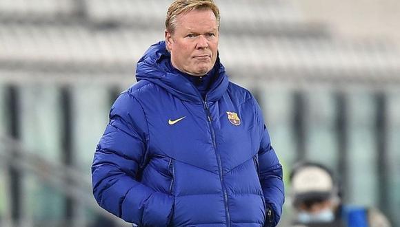 Ronald Koeman afronta mal inicio con Barcelona (AFP)