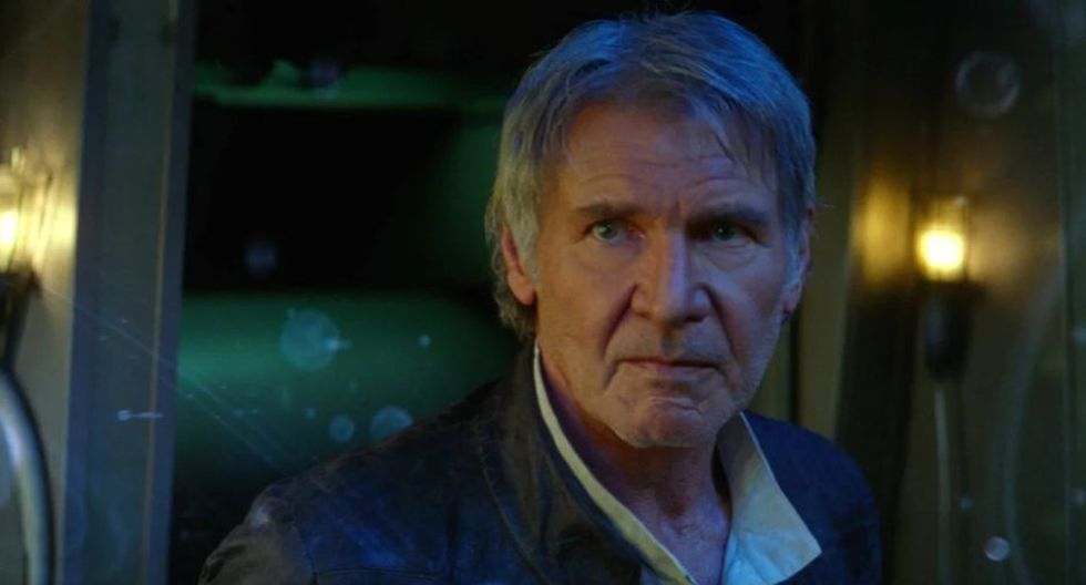"""Star Wars: Harrison Ford responde si él fue un """"fantasma de la Fuerza"""" en 'The Rise of Skywalker'"""
