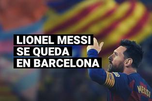 Lionel Messi y la decisión de continuar en el Barcelona