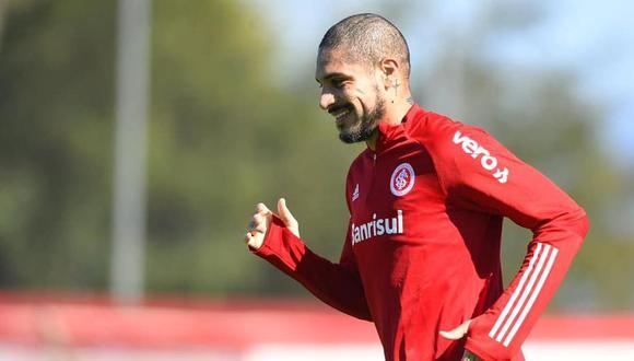 Guerrero continúa entrenando con Internacional. (Foto: SCI)
