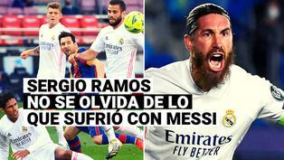 """""""Lo hemos sufrido"""": Sergio Ramos 'culpó' a Messi de que el Madrid no tenga más títulos"""