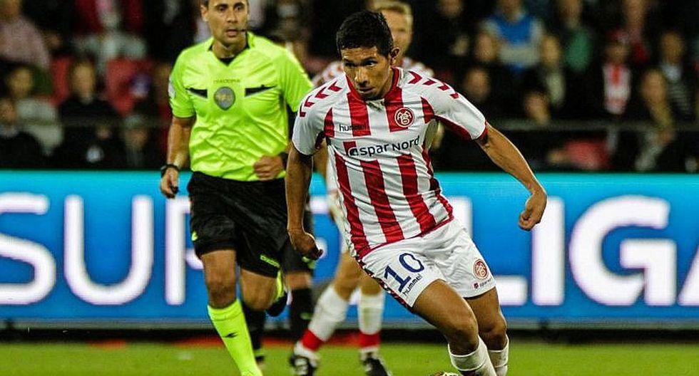 Edison Flores - de Universitario a Aalborg BK en 1 millón 250 mil Euros (Foto: GEC / Agencias)