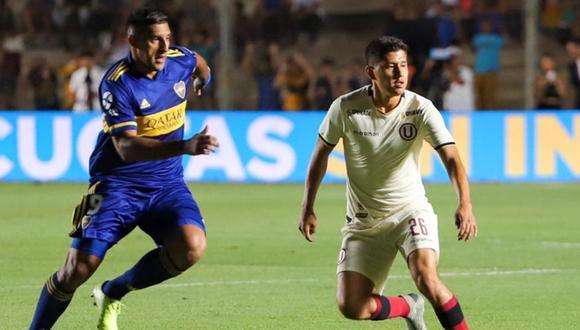 Valverde debutó de manera internacional contra Boca Juniors. (Foto: Archivo personal)