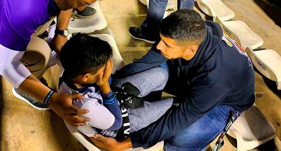 La foto que se viralizó en redes tras el empate de Alianza Lima. (Foto: Facebook)