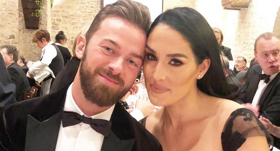 Artem Chigvintsev y Nikki Bella fueron pareja en 'Dancing with the Stars' en 2017. (Instagram)