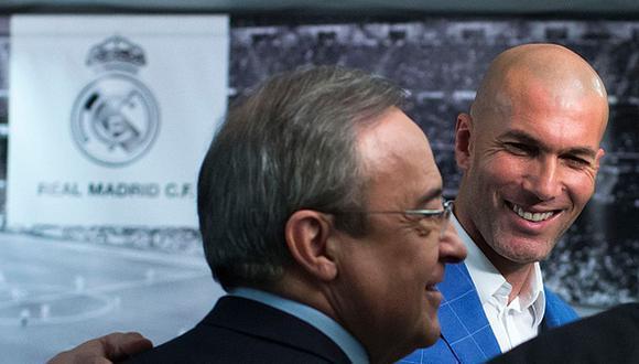Zinedine Zidane tiene contrato con Real Madrid hasta junio de 2022. (Foto: Getty)