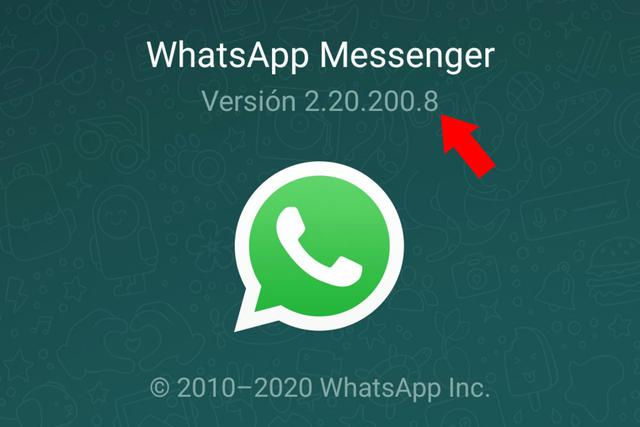 That number is the version of the application that you have installed on your cell phone.  (Photo: Screenshot)