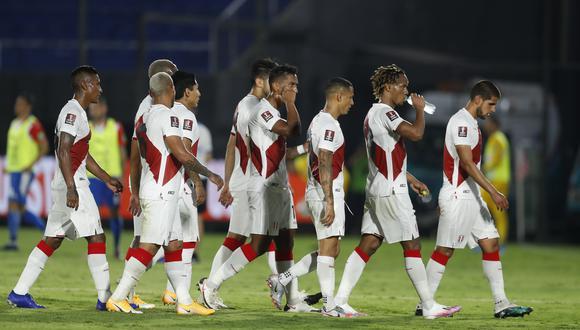 La Selección Peruana llegó a Lima tras el empate ante Paraguay. Foto: AFP