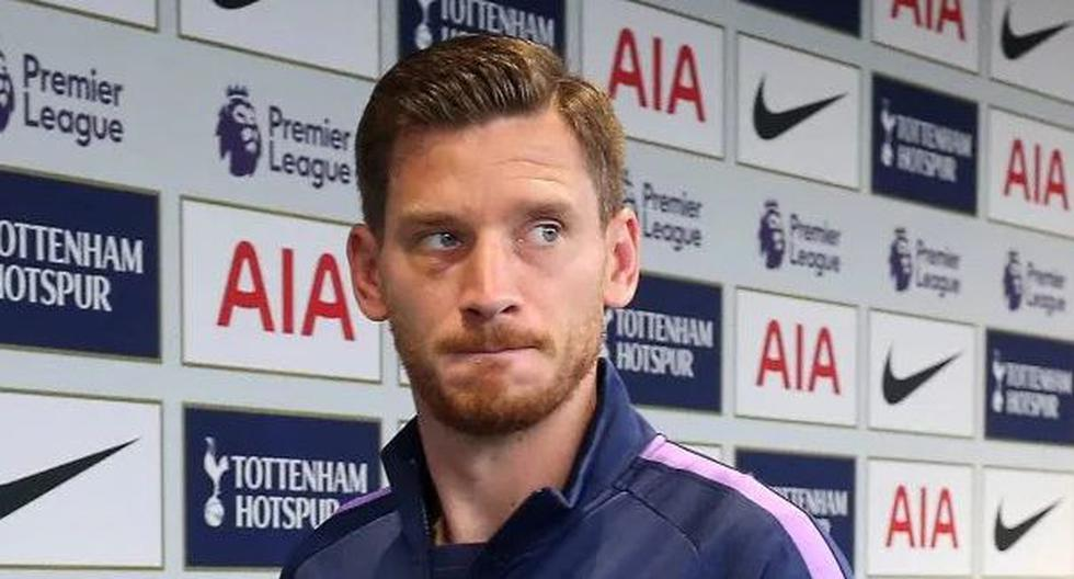 Christian Eriksen habría agredido a Vertonghen durante un entrenamiento del Tottenham. (Getty Images)