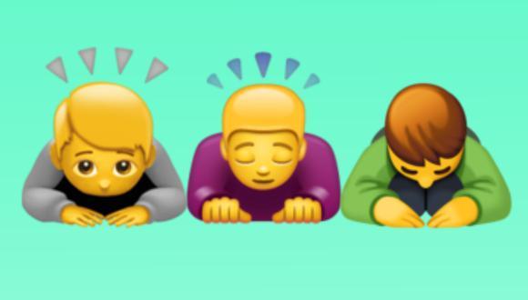 Conoce lo que realmente significa el emoji de la persona tocándose la oreja derecha (Foto: Mag / composición)