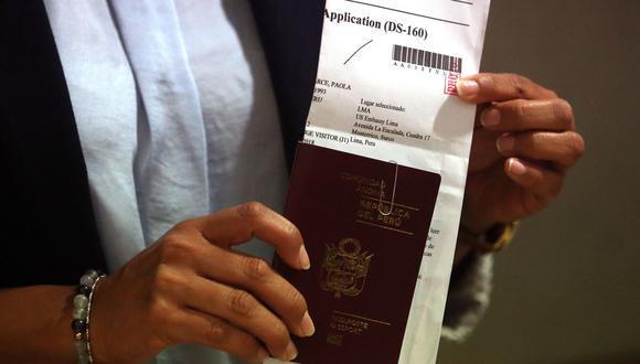 Las visas B1 y B2 son emitidas para viajeros temporales por turismo, negocios y visitas médicas. Este tipo de visa permite ingresos múltiples. (Foto: Andina)