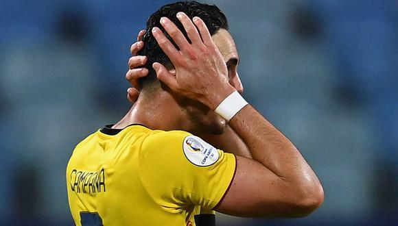 Ecuador se complicó y ahora deberá buscar su clasificación a cuartos ante Brasil en la última jornada | Foto: AFP