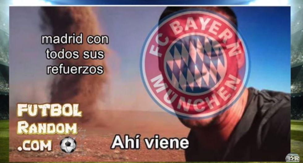 Los mejores memes de la derrota del Real Madrid ante Bayern Munich.