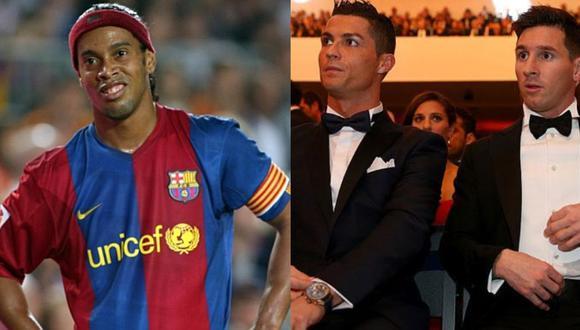 Barcelona pudo juntar a Cristiano Ronaldo y Lionel Messi. (Foto: Agencias)