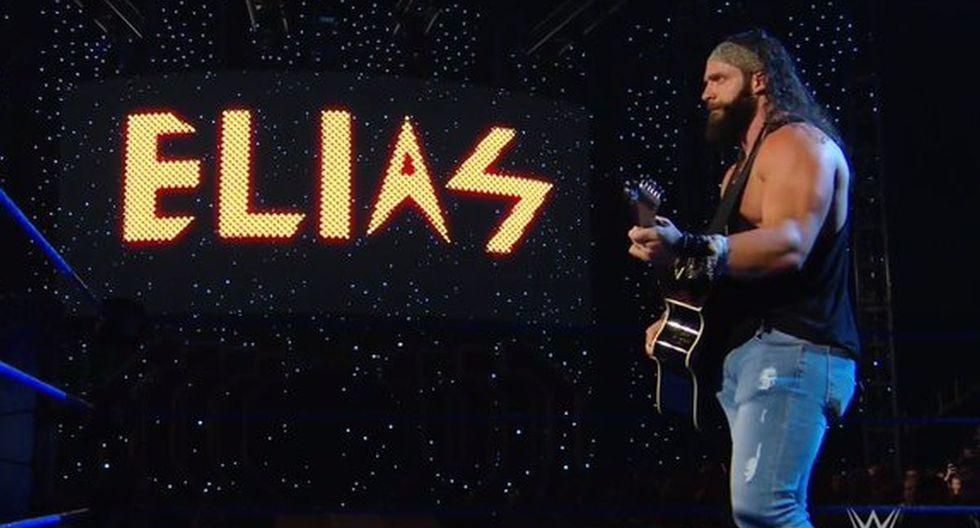 Elias estuvo 'on fire' en SmackDown. (Foto: WWE)