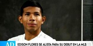 Edison Flores prepara las 'Orejas' para debut con DC United