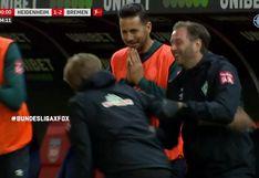 Minutos de tensión: así vivió Claudio Pizarro la permanencia del Werder Bremen en la Bundesliga