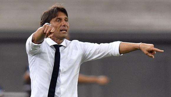 Antonio Conte llegó al banquillo del Inter la temporada pasada. (Foto: EFE)
