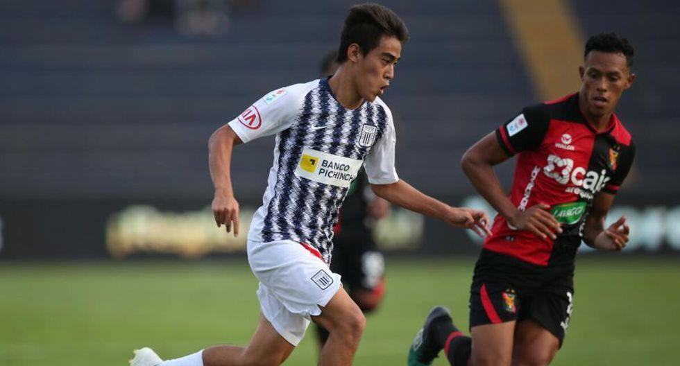 Matzuda se mostró con confianza antes de su debut con Alianza Lima. (Foto: GEC)
