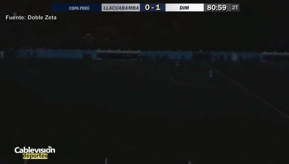 Así se jugó el partido en la Copa Perú. (Video: Cablevisión TV)