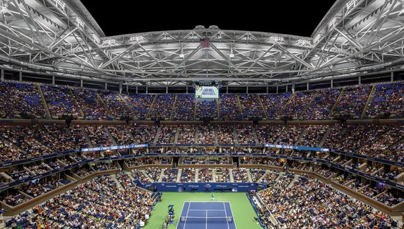 El Arthur Ashe es el estadio principal del Grand Slam norteamericano. (Foto: Steel Institute of New York)