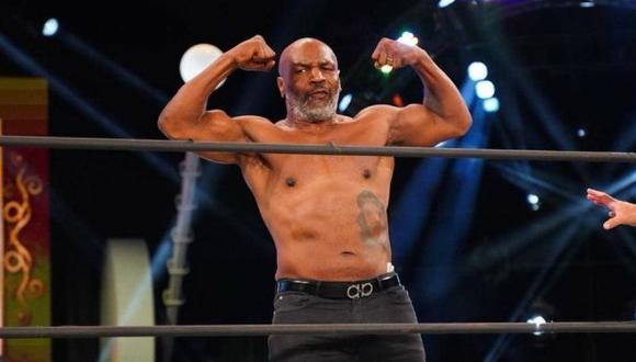 Pelea de exhibición de Mike Tyson se postergó hasta el 28 de noviembre. (AEW)