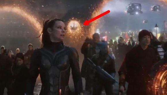 """El portal que corresponde a The Wasp en """"Endgame"""" (Marvel)"""