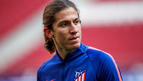 Filipe Luis, de 33 años, también fue vinculado con el Barcelona (Getty)