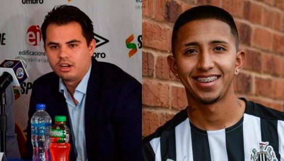 Christian Herrera Rambla, representante de Edificaciones Inmobilarias, habló sobre el fichaje de Vilca a Newcastle.