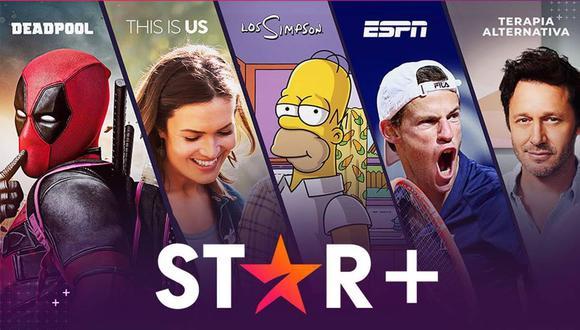 Star+ en Perú: La nueva plataforma de streaming ya llegó a Latinoamérica. (Foto: Difusión)