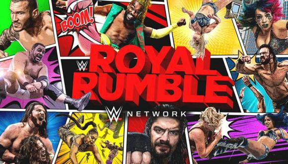 WWE Royal Rumble 2021: fecha, horarios en el mundo y canales de TV para ver el primer evento del año. (WWE)