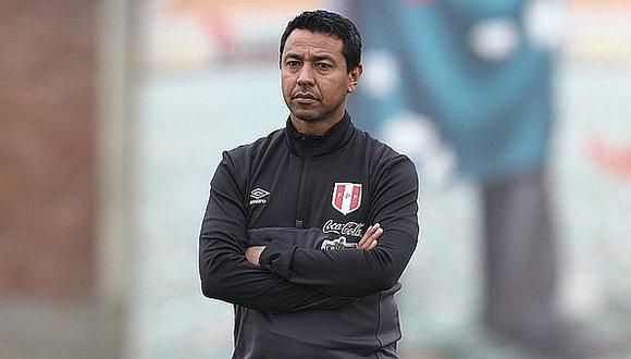 Nolberto Solano es el asistente técnico de Gareca en la 'bicolor'. (GEC)
