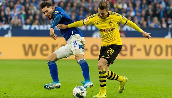 Dortmund goleó 4-0 al Schalke 04 en el reinicio de la Bundesliga 2020. (Foto: Getty)