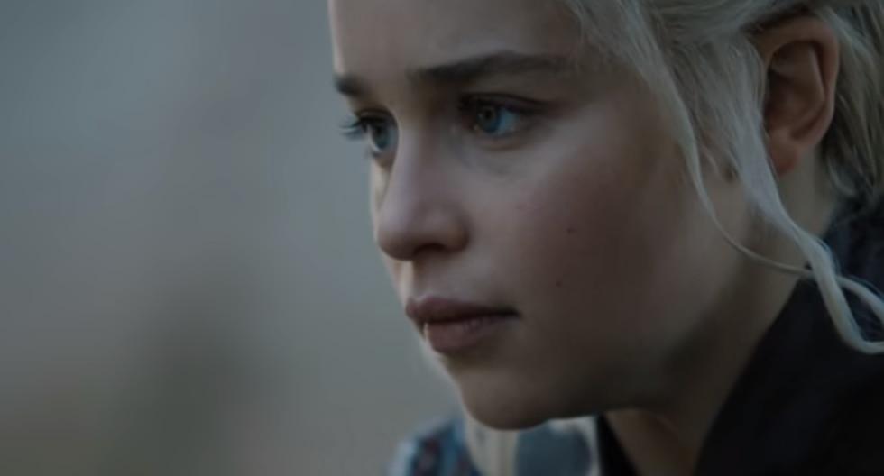Emilia Clarke revela la verdad tras el polémico vaso que apareció en el último capítulo de Game of Thrones. (Foto: HBO)
