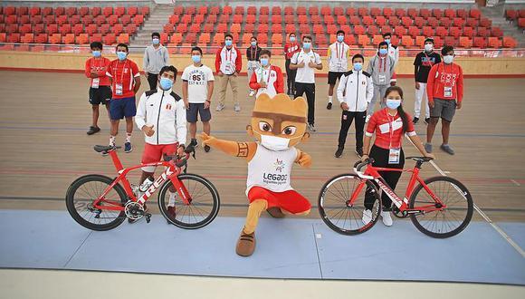 Medallistas de Lima 2019 realizan Base de Entrenamiento en moderno Velódromo de la VIDENA. (Foto: Legado)