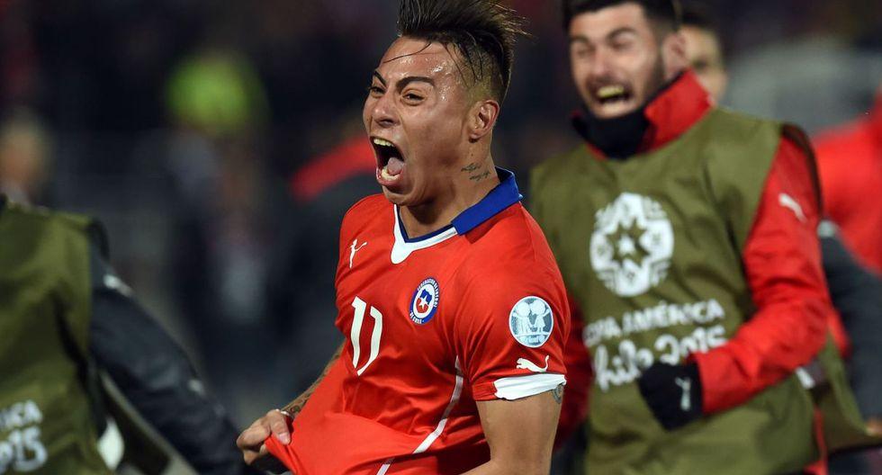 Perú vs. Chile | Vargas hizo 4 goles en la Copa América 2015 (Foto: Internet / Agencias / Getty Images)