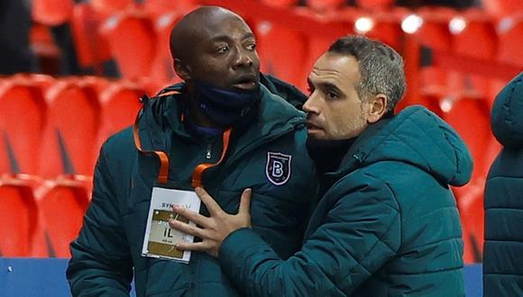 Pierre Webó sufrió ataque racista en el PSG vs. Istanbul y obligó a la paralización del partido. (Foto: EFE)