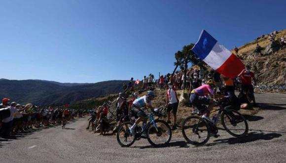 Continúa las Etapas del Tour de Francia. (AFP)